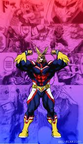 ALL MIGHT PHONE WALLPAPER ...