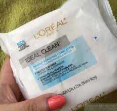l oreal paris ideal clean makeup removing towelettes review