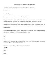 Short Cover Letter Examples For Resume Topresumeletter