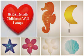 Ikea Recall Night Light Stylish Children Wall Lamp Ikea Reannounce And Expand Recall