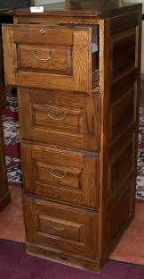 full image for wooden 4 drawer filing cabinet oak effect used 4 drawer wood file cabinet