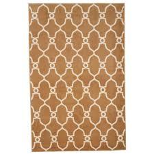lavish home lattice tan 8 ft x 10 ft area rug