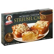 Little debbie zebra cake rolls 13.10oz. Mckee Foods Little Debbie Streusel Cakes 8 Ea Walmart Com Walmart Com