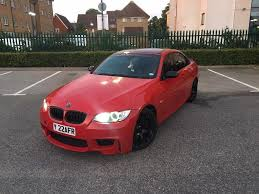 2008 BMW 330D M Sport E93 Red Convertible Amazing Spec Low Miles ...