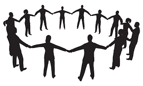 group of people clipart black and white. Brilliant Group 28 Collection Of Working Together Clipart Black And White  High   Graphic In Group Of People W