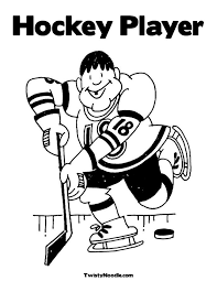 Small Picture Beautiful Coloring Pages Hockey Players Nhl Images Coloring Page
