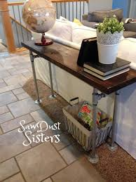 Diy Rustic Sofa Table Sofas Center Modern Style Diy Sofa Table With Storage Plans