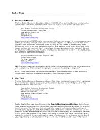 Free Pdf Resume Builder Barber Shop Business Plan Pdf Unforgettable Pictures Highest 93