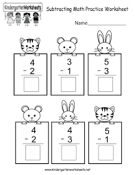 Kids. kindergarten subtraction worksheets: Farm Kindergarten ...