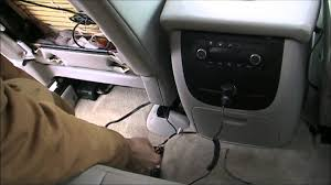concept chameleon cld 700 headrest dvd installation in 2007 gmc concept chameleon cld 700 headrest dvd installation in 2007 gmc yukon xl