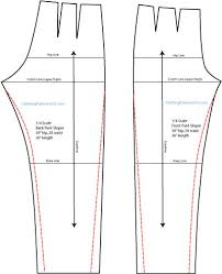 Make Pants Making A Tapered Pant Pattern