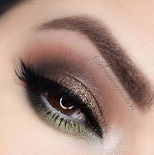 makeup ideas for prom brown gold and green these are the best makeup ideas