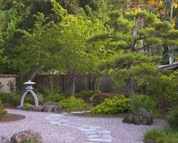 Outdoors  Natural Japanese Backyard Garden Decorating Ideas Diy Japanese Backyard Garden