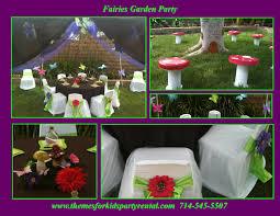 Fairy Birthday Party Decorations Similiar Garden Birthday Party Ideas Keywords