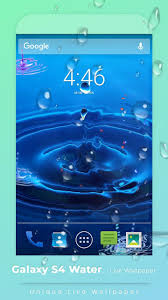 Galaxy S3s4s5s7s8 Water Live Wallpaper For Android Apk