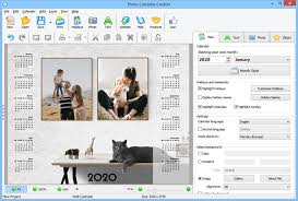 Clander Maker Photo Calendar Maker Convenient Calendar Software