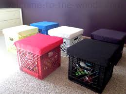 win the battle with toys in your house create this diy toy storage by building turn old milk crates