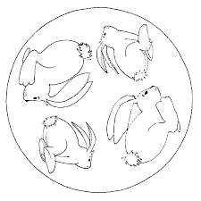 Kleurplatenwereldnl Gratis Dieren Dieren Mandala Kleurplaten