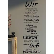 Wandtattoo Xxl Spruch Wir Familie Wandaufkleber Wohnzimmer Sprüche