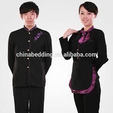 custom whole 100 polyester uniform hotel front office uniform hotel staff