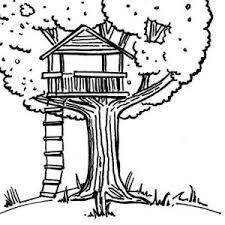 Small Picture Wondrous Ideas Treehouse Coloring Pages Tree House Coloring Page