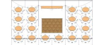 Round Table Seating Capacity 40 X 60 Pole Tent Wards Rental Wards Rental
