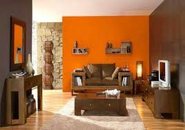 Living Room Decorating Ideas on a Budget - Living Room Brown And Orange  Design, Pictures