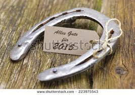 new year 2015 greetings german language stock photo 223975543 Wedding Greetings In German new year 2015 greetings in german language alles gute good luck with horseshoe wedding greetings german
