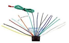 sony wiring harness ebay Sony 16 Pin Wiring Harness Diagram at Sony Xav 7w Wiring Harness