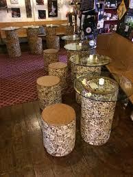 cork furniture. Von Stiehl Winery: Wine Cork Furniture
