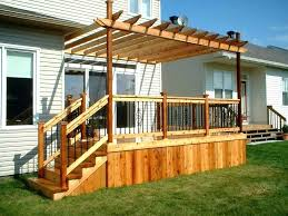 pergola attached to house pergola attached to house enchanting pergola attached to house and deck with