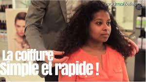 Cheveux Boucl S Coiffure Simple Et Rapide Youtube