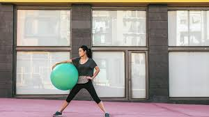Stability Ball Workout Exercises For Core Lower Body And More