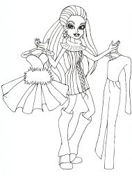 Small Picture Abbey Bominable Monster High Coloring Page Coloring Pages of
