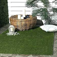 vista collection verdant green indoor outdoor faux grass area rug 5 rugs x 7 oz artificial grass turf indoor outdoor rugs