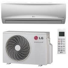 goodman mini split. lg ls120hxv 12000 btu mega series single zone mini split system with heat pump - 115v goodman