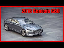 2018 Genesis G60 Picture Gallery  1