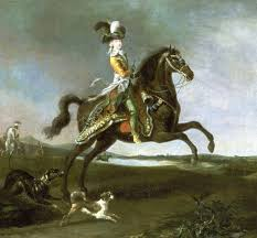 1783 equestrian portrait of marie antoinette in hunting attire by louis auguste brun fim 16oct2008