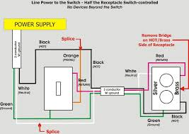 excellent half switched outlet wiring diagram how to wire a switched half switched receptacle wiring diagram at Half Switched Outlet Wiring Diagram