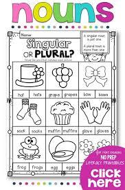 best 25 irregular plural nouns worksheet ideas on pinterest free ...