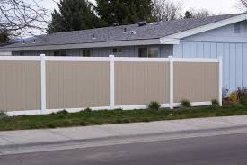 vinyl fencing.  Fencing The Cost Of Vinyl Fencing Is Comparable To A Premium Wood Fence Great  Thing You Will Never Have Replace Your Fence In The Future Throughout Vinyl Fencing R