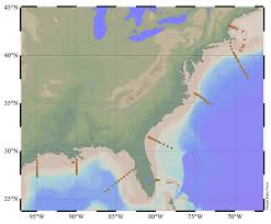 Texas Gulf Coast Water Depth Chart Wang And His Colleagues Sampled The Waters Off The U S East