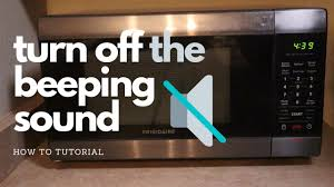 how to turn off the beeping sound on a