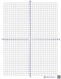 Four Quadrant Graphing Paper