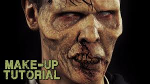 zombie prosthetics makeup kit how to video world war z style trailer you