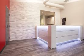 modern office reception furniture. modern reception desks with led lighting office furniture o