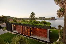 View in gallery Eco-friendly modular home on Avalon Beach, Australia