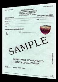doctor prescription pad order prescription pads hologramrx tamper resistant rx pads