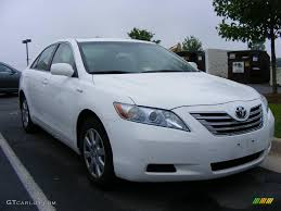 2007 Super White Toyota Camry Hybrid #10051760 Photo #2 | GTCarLot ...