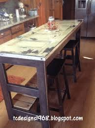 kitchen island made from old doors best of kitchen island made from an old door